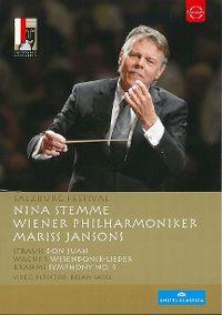 Cover Nina Stemme / Wiener Philharmoniker / Mariss Jansons - Salzburg Festival [DVD]